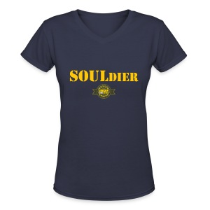 SOULdier - Women's V-Neck T-Shirt
