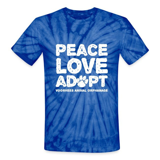 Peace, Love, Adopt Tee