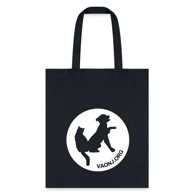Peace, Love, Adopt Tote Bag
