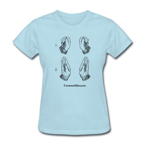 Caramelldansen (girly fit) - Women's T-Shirt