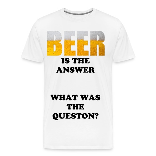 Question? - Men's Premium T-Shirt