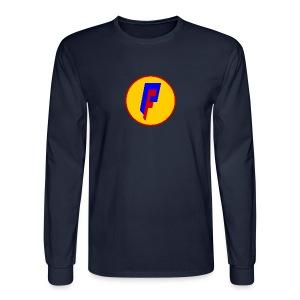 Private Freedom Mark 3 (logo on back) - Men's Long Sleeve T-Shirt