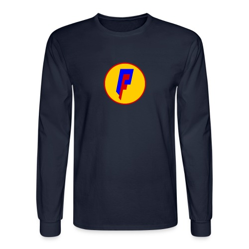Private Freedom Mark 3 (logo on back) - Men's Long Sleeve T-Shirt