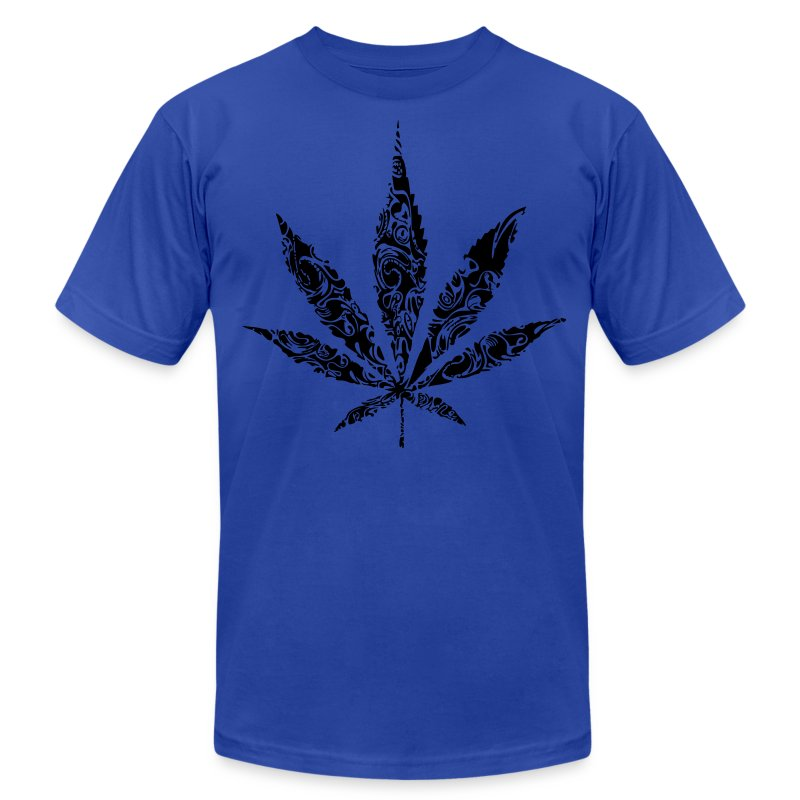 weed - Men's T-Shirt by American Apparel