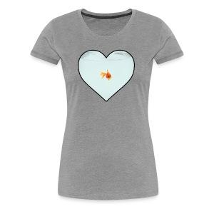 Women's Goldfish Lover - Women's Premium T-Shirt