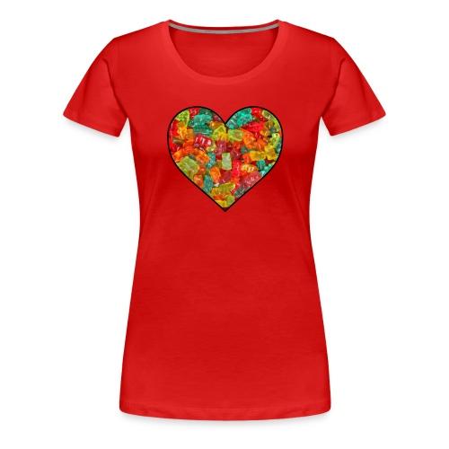Women's Gummi Lover - Women's Premium T-Shirt