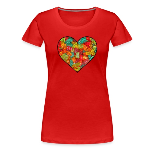 Women's Gummi Lover - Women's Premium T-Shirt