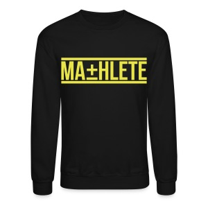 Mathlete Crewneck Sweatshirt by AiReal Apparel - Crewneck Sweatshirt