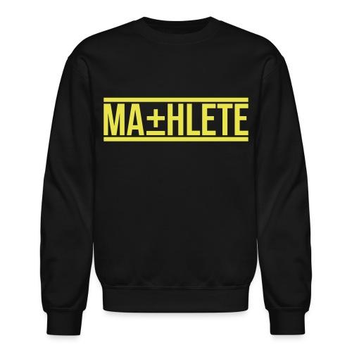 Mathlete Crewneck Sweatshirt by AiReal Apparel - Crewneck Sweatshirt