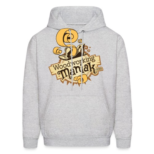 WoodworkingManiak_logo-1-LARGE.png - Men's Hoodie