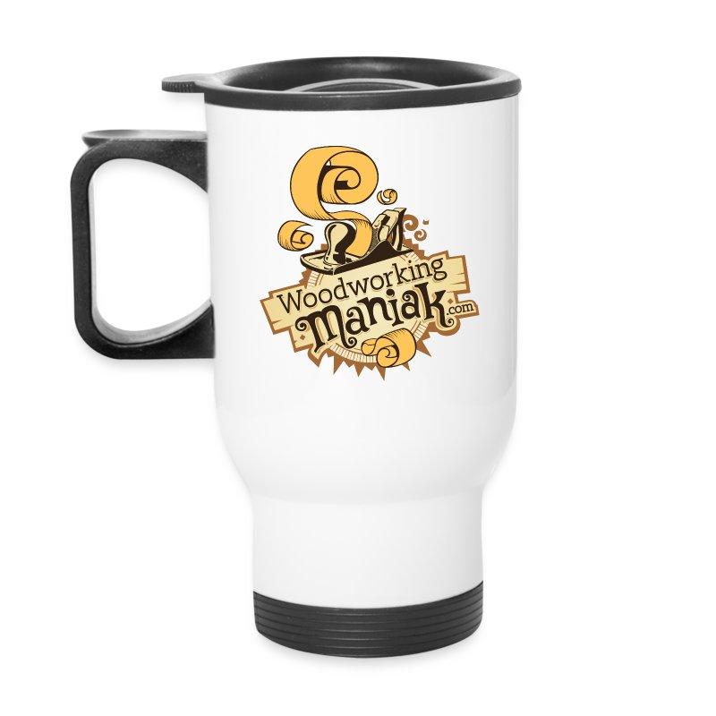 WoodworkingManiak_logo-1-LARGE.png - Travel Mug