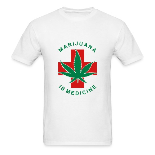 Stoners Paradise Medical Marijuana T-Shirt Male - Men's T-Shirt