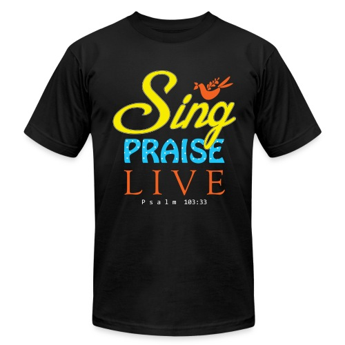 Sing Praise Live - Men's  Jersey T-Shirt