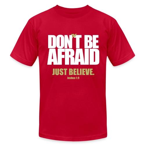 Don't Be Afraid - Men's Fine Jersey T-Shirt