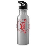 Mugs & Drinkware ~ Water Bottle ~ veteran soldier army navy usa pride