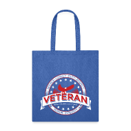Bags & backpacks ~ Tote Bag ~ veteran soldier army navy usa pride