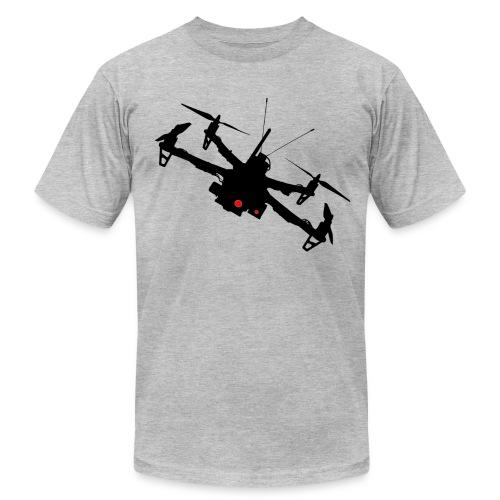 Drone Silhouette - Men's Fine Jersey T-Shirt