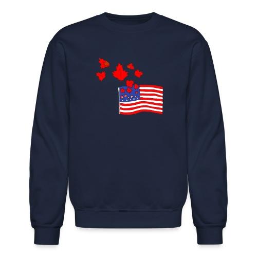 Camerican Flag - Crewneck Sweatshirt