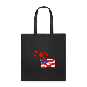 Camerican Flag - Tote Bag