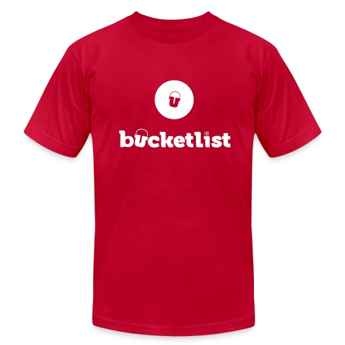 The Official Bucketlist T-shirt - Men's Fine Jersey T-Shirt