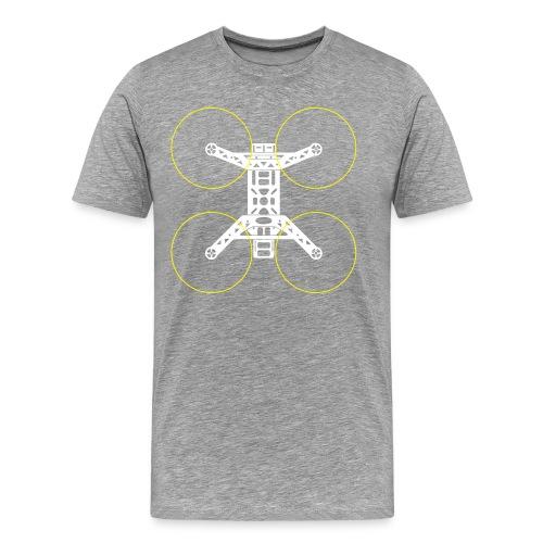 Quadrocopter - Men's Premium T-Shirt