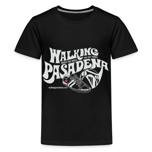 Kids' Walking Pasadena T-shirt (white logo) - Kids' Premium T-Shirt