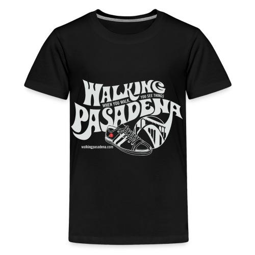 Kids' Walking Pasadena T-shirt (white logo) - Kids' Premium T-Shirt