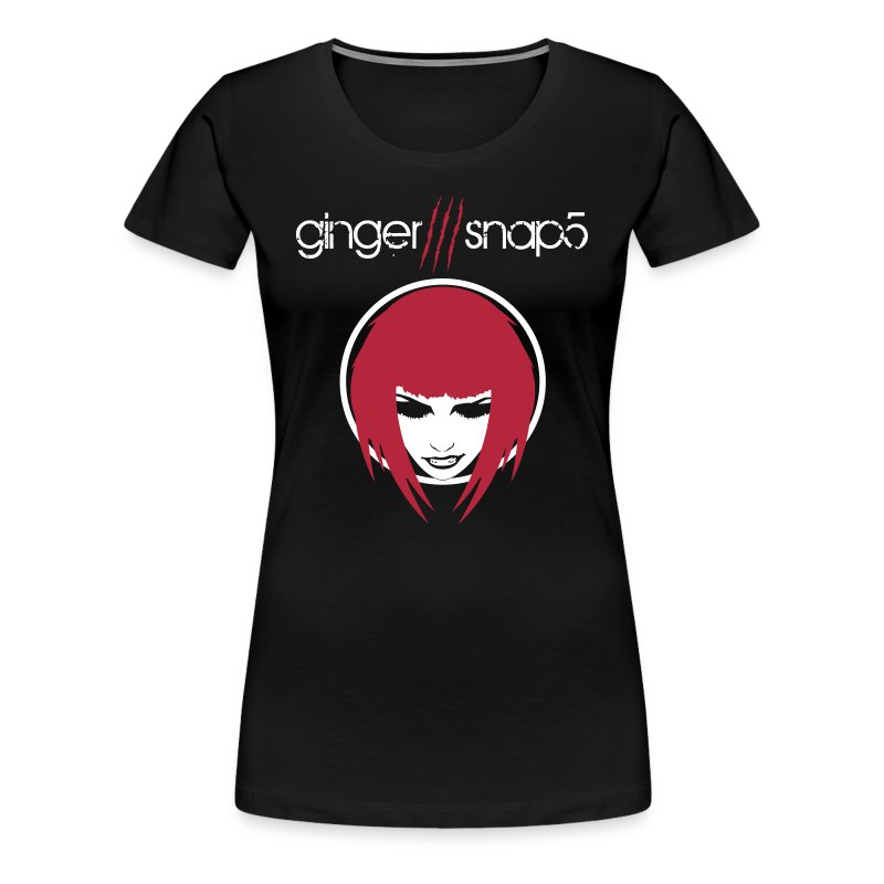 GS5 title + Ginger (classic) for dark background - Women's Premium T-Shirt
