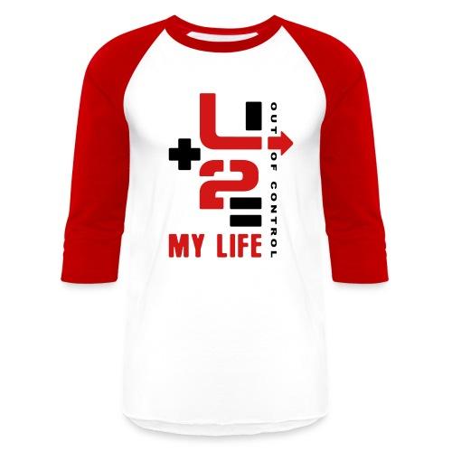 U+2=MY LIFE - front print - s/xxl - Baseball T-Shirt