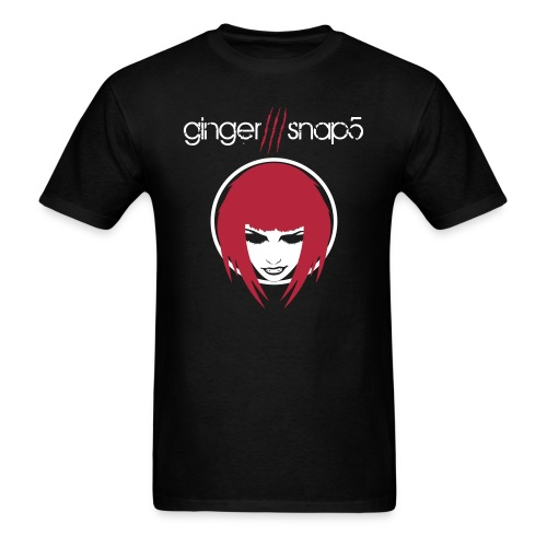 GS5 title + Ginger (classic) for dark background - Men's T-Shirt