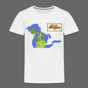 Legend of Michigan - Toddler Premium T-Shirt