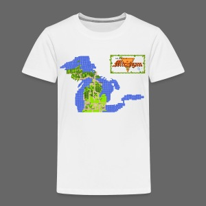 Legend of Michigan - Toddler Premium T-Shirt
