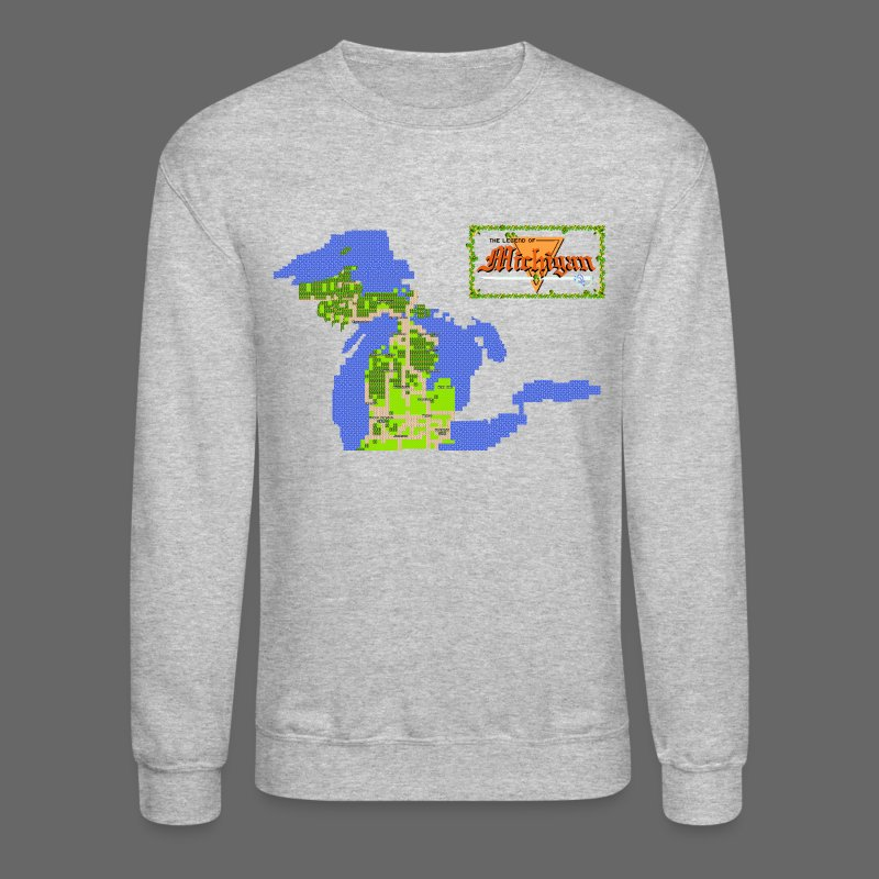 Legend of Michigan - Crewneck Sweatshirt
