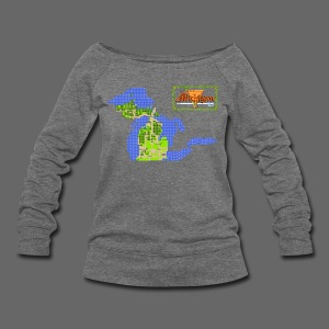 Legend of Michigan - Women's Wideneck Sweatshirt