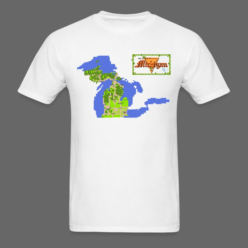 Legend of Michigan - Men's T-Shirt