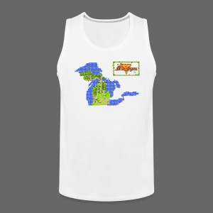 Legend of Michigan - Men's Premium Tank