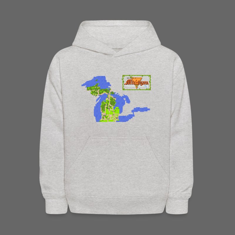Legend of Michigan - Kids' Hoodie