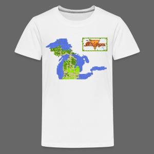 Legend of Michigan - Kids' Premium T-Shirt