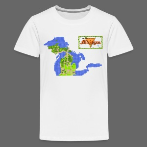 Legend of Michigan - Kids' Premium T-Shirt