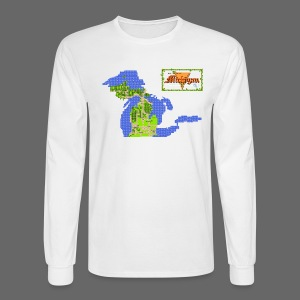 Legend of Michigan - Men's Long Sleeve T-Shirt
