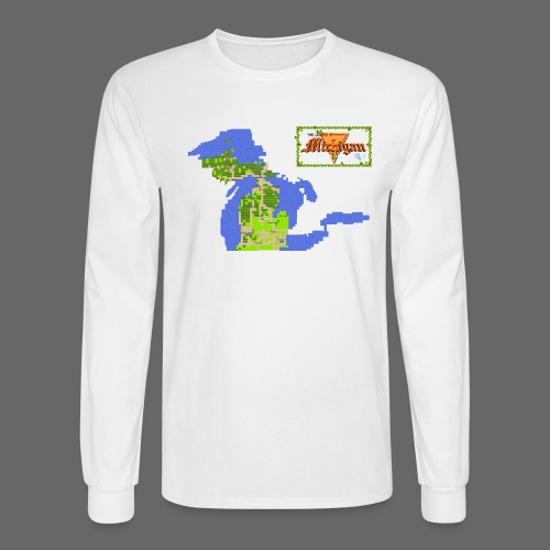 Legend of Michigan - Men's Long Sleeve T-Shirt