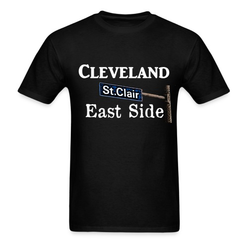 Cleveland East Side - Men's T-Shirt