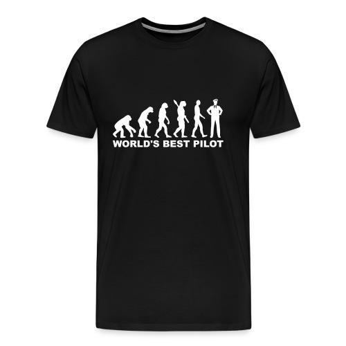 World Best Pilot ! - Men's Premium T-Shirt