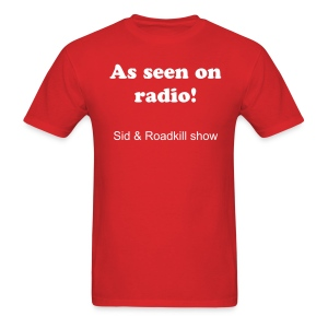 S&R Seen on Radio Tank - Men's T-Shirt