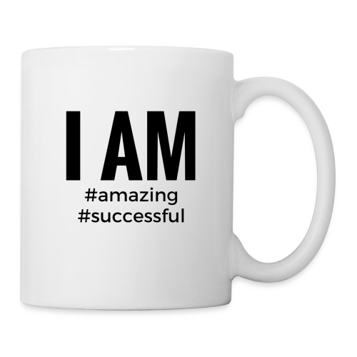 I AM #amazing #successful Mug - Coffee/Tea Mug