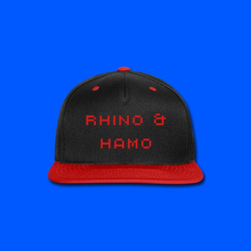 Rhino & Hamo Hat - Snap-back Baseball Cap