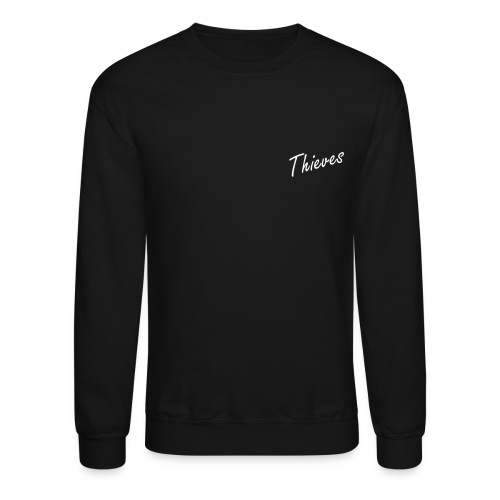 Thieves Logo - Back Jumper | Black - Crewneck Sweatshirt
