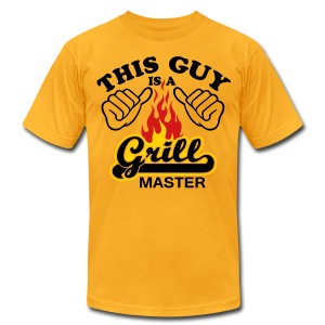 This Guy is grill master - Men's T-Shirt by American Apparel