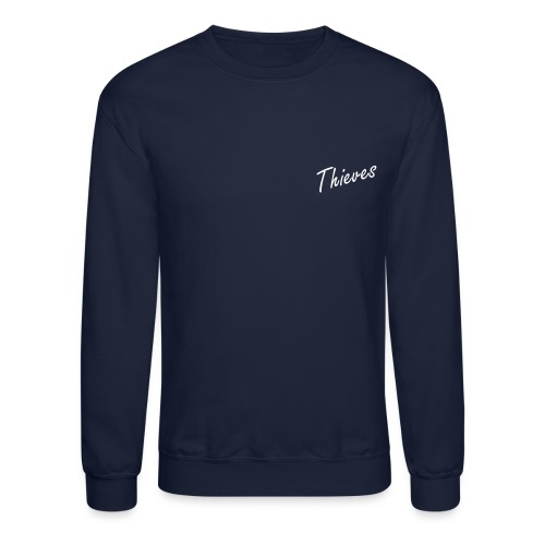 Thieves Logo - Back Jumper | Navy - Crewneck Sweatshirt