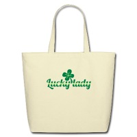 Lucky lady - Eco-Friendly Cotton Tote